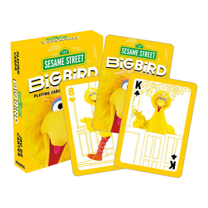 Sesame Street - Big Bird Playing Cards | Cookie Jar - Home of the Coolest Gifts, Toys & Collectables