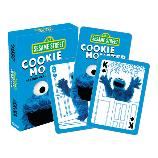 Sesame Street - Cookie Monster Playing Cards | Cookie Jar - Home of the Coolest Gifts, Toys & Collectables