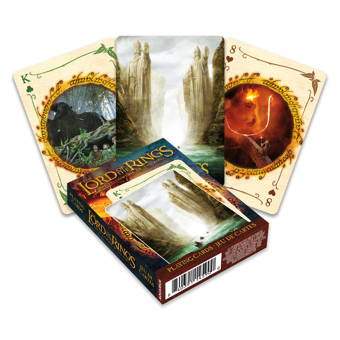 Lord of the Rings - Fellowship of the Ring Playing Cards