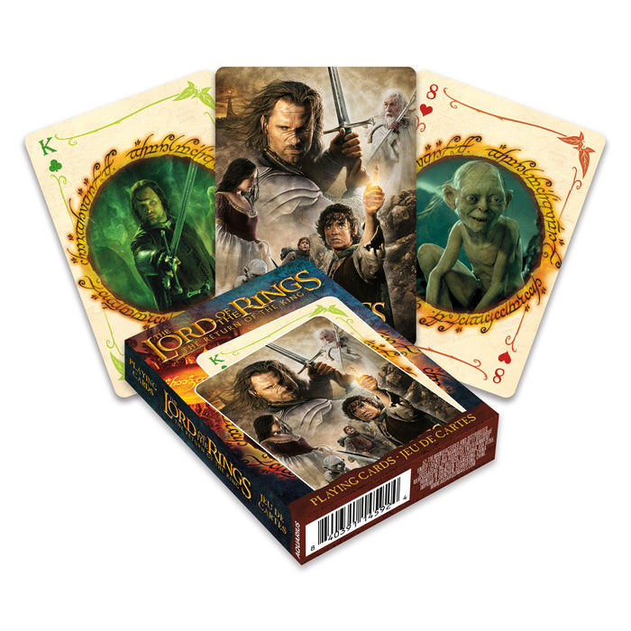 Lord of The Rings - Return of the King Playing Cards