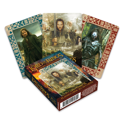 Lord of the Rings - Heroes & Villains Playing Cards