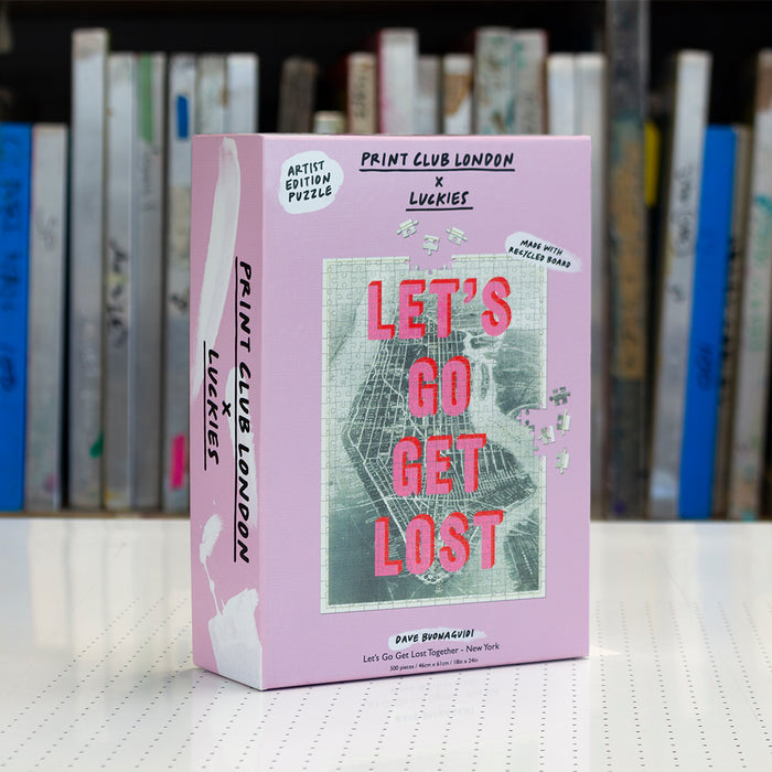Luckies Print Club - Lets Go Get Lost 500pc Puzzle