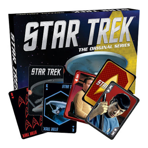 Star Trek Playing Card Box - Set of 2 | Cookie Jar - Home of the Coolest Gifts, Toys & Collectables