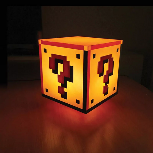 Super Mario Bros. Question Block Light | Cookie Jar - Home of the Coolest Gifts, Toys & Collectables
