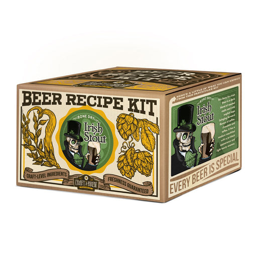 Craft A Brew - Bone Dry Irish Stout Refill Kit | Cookie Jar - Home of the Coolest Gifts, Toys & Collectables