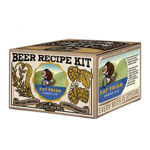 Craft A Brew - Fat Friar Amber Ale Refill Kit | Cookie Jar - Home of the Coolest Gifts, Toys & Collectables