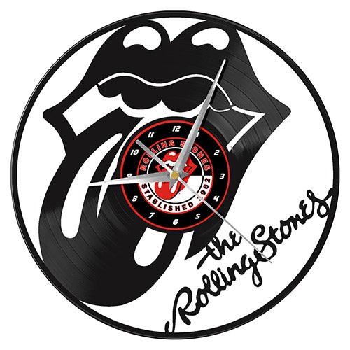 The Rolling Stones Vinyl Wall Clock | Cookie Jar - Home of the Coolest Gifts, Toys & Collectables