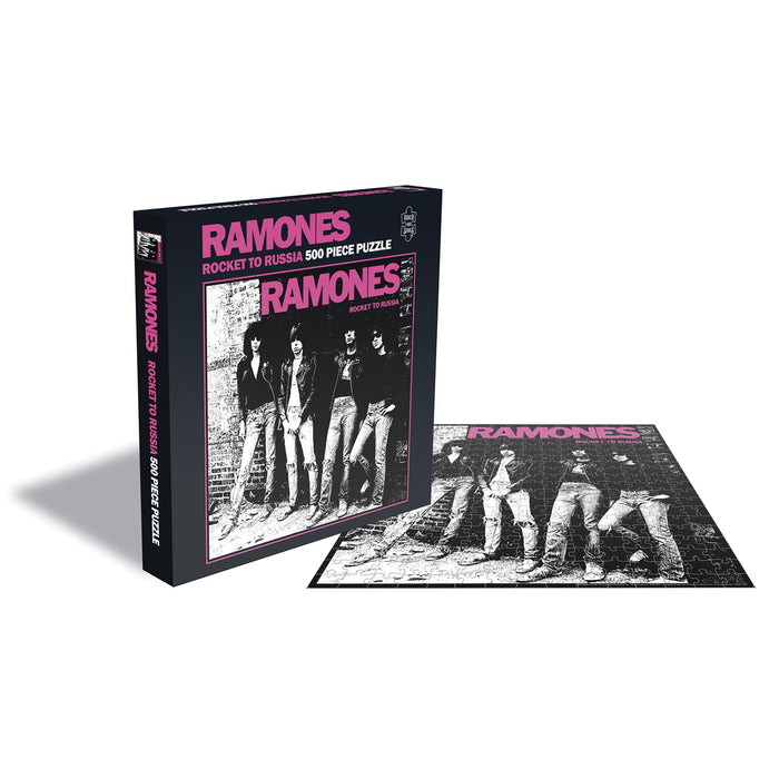 The Ramones - Rocket To Russia Album Cover 500pc Puzzle