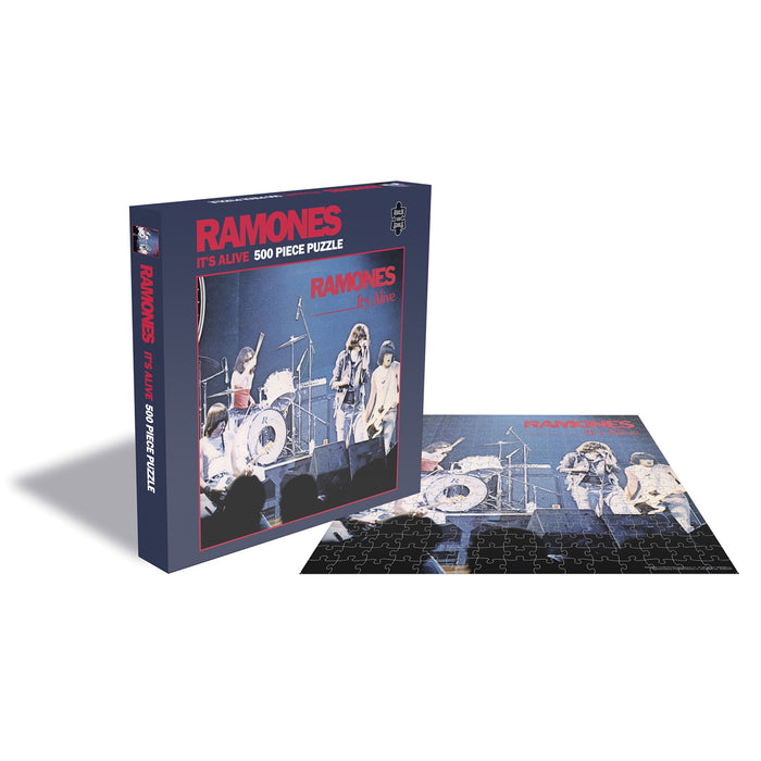 Ramones - It's Alive 500pc Puzzle