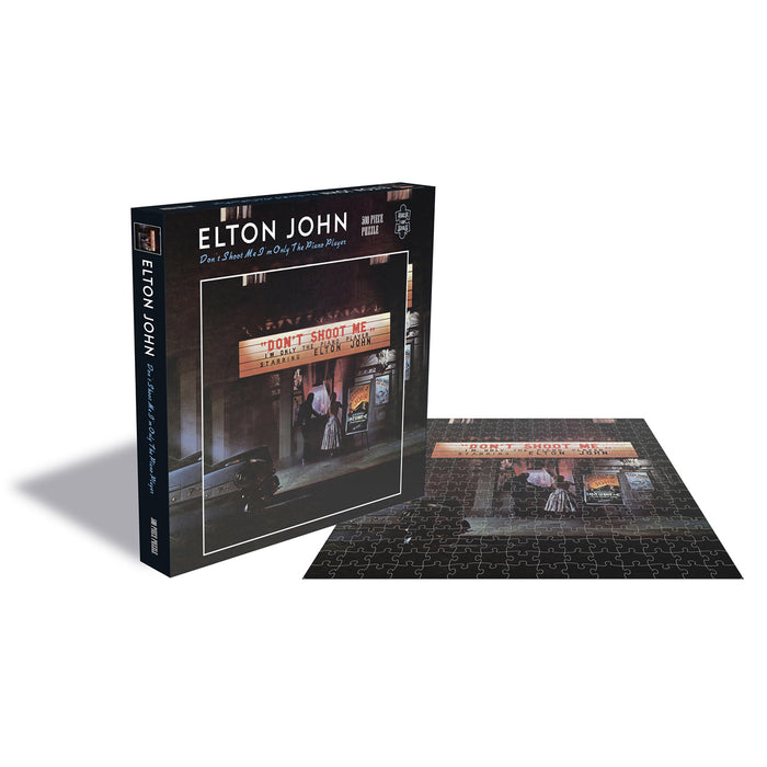 Elton John - Don't Shoot Me I'm Only The Piano Player Album Cover 500pc Puzzle