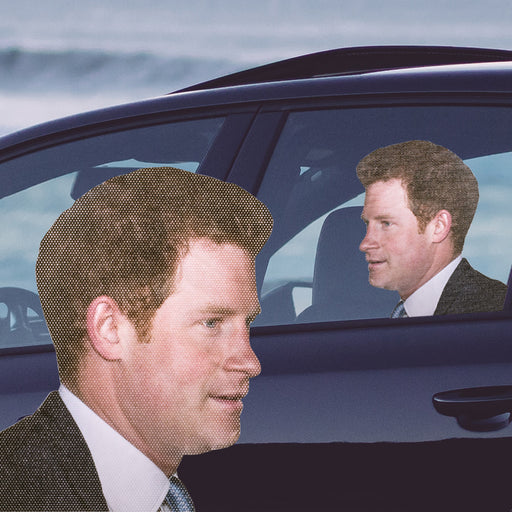 Ride With Prince Harry - Car Window Decal | Cookie Jar - Home of the Coolest Gifts, Toys & Collectables