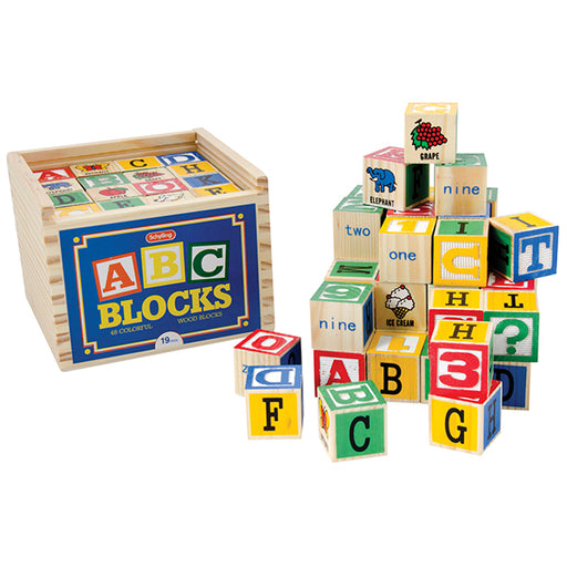 Schylling - Alphabet Wood Blocks | Cookie Jar - Home of the Coolest Gifts, Toys & Collectables