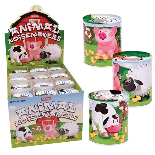 Schylling - Tin Animal Sound Maker | Cookie Jar - Home of the Coolest Gifts, Toys & Collectables
