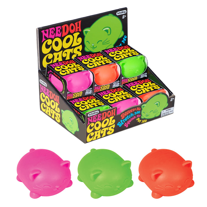 Schylling - Cool Cats Nee-Doh | Cookie Jar - Home of the Coolest Gifts, Toys & Collectables