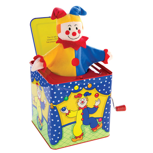 Schylling - Jester Jack In Box | Cookie Jar - Home of the Coolest Gifts, Toys & Collectables