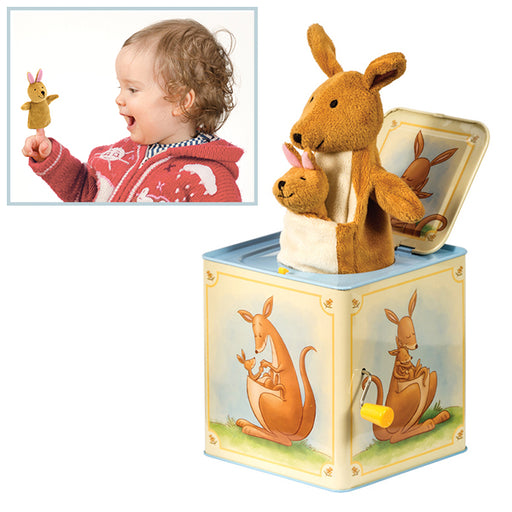 Schylling - Kangaroo Jack In Box | Cookie Jar - Home of the Coolest Gifts, Toys & Collectables