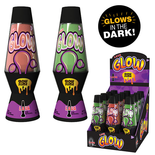 Schylling - Lava Glow In The Dark Slime