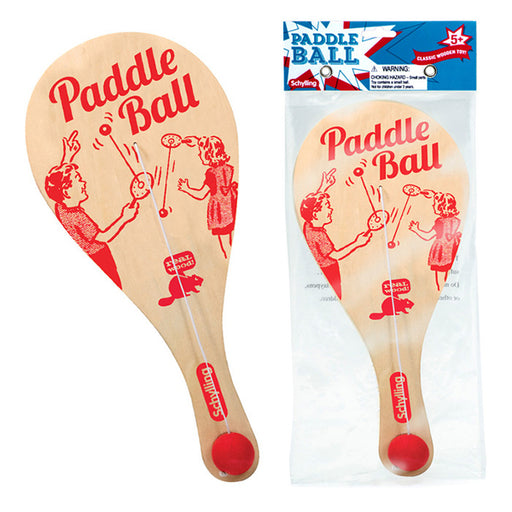 Schylling - Paddle Ball Game | Cookie Jar - Home of the Coolest Gifts, Toys & Collectables