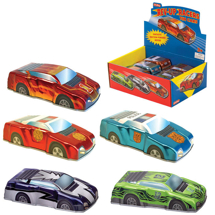 Schylling - Rev-Up Racing Cars | Cookie Jar - Home of the Coolest Gifts, Toys & Collectables