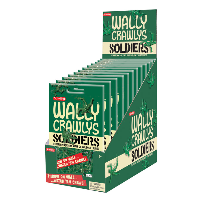 Schylling - Wally Crawly Soldiers