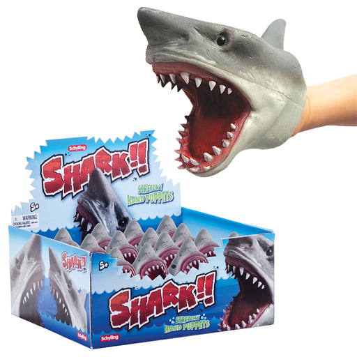 Schylling ̐ Shark Hand Puppets | Cookie Jar - Home of the Coolest Gifts, Toys & Collectables