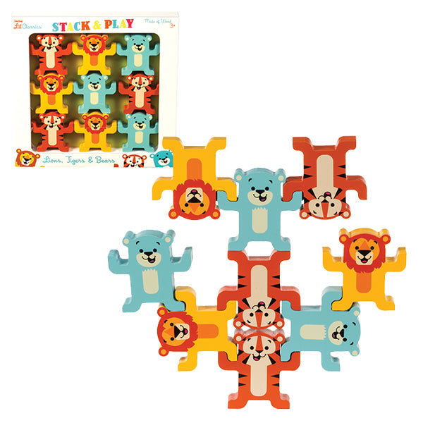 Schylling - Little Classics Stack & Play Animals | Cookie Jar - Home of the Coolest Gifts, Toys & Collectables
