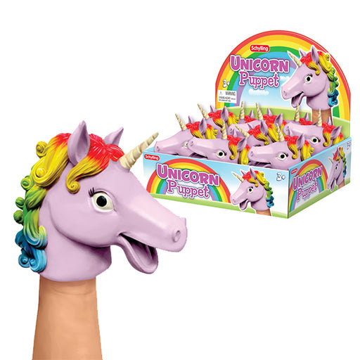 Schylling - Unicorn Hand Puppet | Cookie Jar - Home of the Coolest Gifts, Toys & Collectables