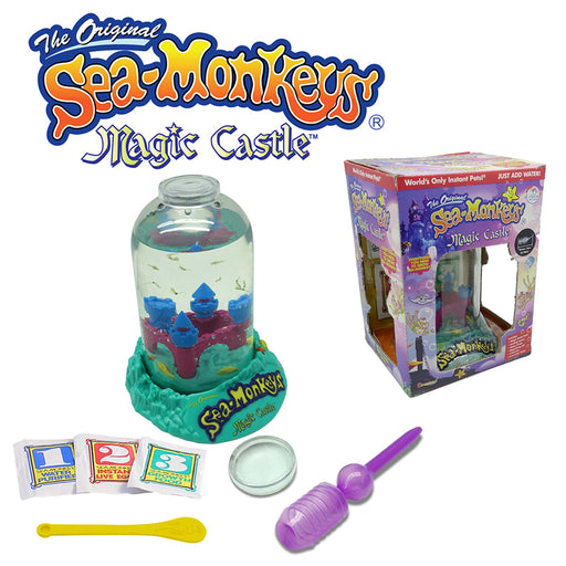 The Original Sea-Monkeys®️ Magic Castle | Cookie Jar - Home of the Coolest Gifts, Toys & Collectables