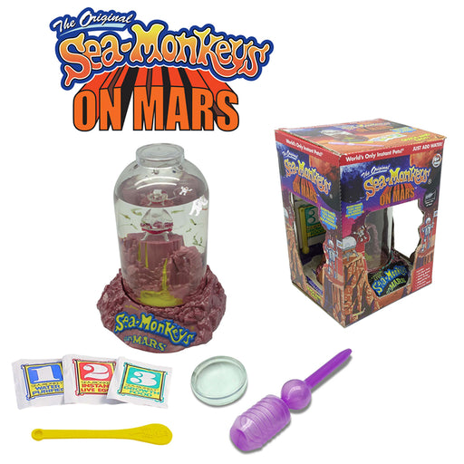 The Original Sea-Monkeys®️ On Mars | Cookie Jar - Home of the Coolest Gifts, Toys & Collectables