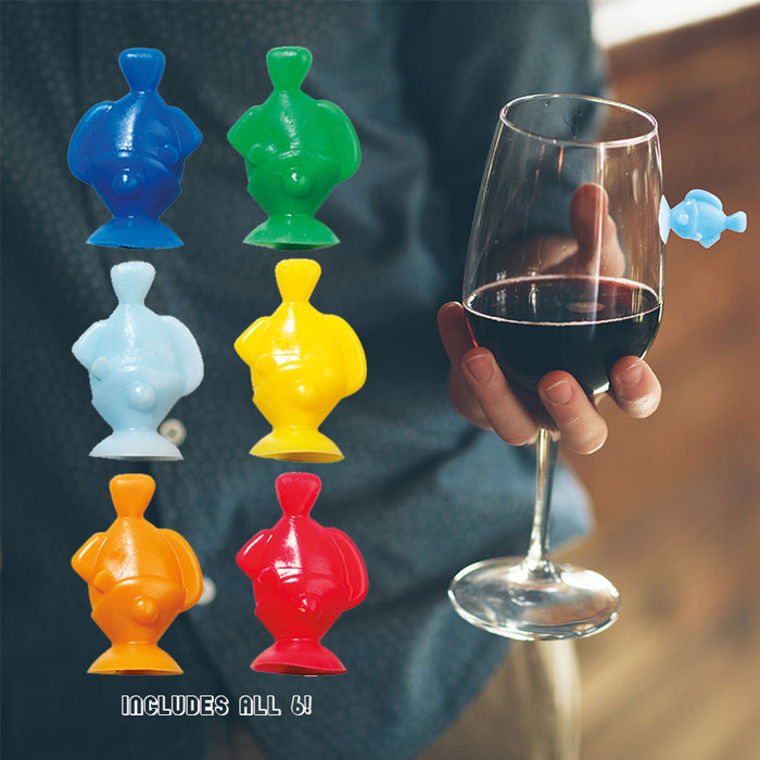 Drink Like A Fish Glass Markers | Cookie Jar - Home of the Coolest Gifts, Toys & Collectables