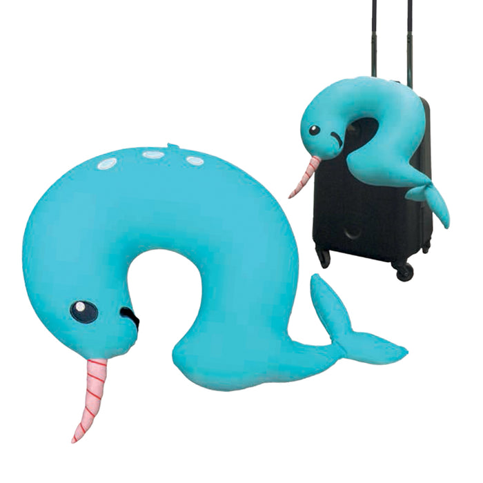 Narwhal Travel Cushion | Cookie Jar - Home of the Coolest Gifts, Toys & Collectables