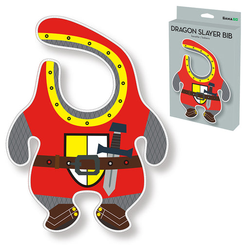 GAMAGO - Dragon Slayer Bib | Cookie Jar - Home of the Coolest Gifts, Toys & Collectables