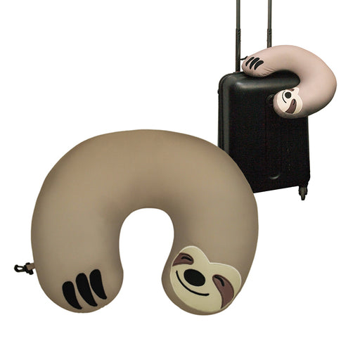 GAMAGO - Sloth Travel Cushion | Cookie Jar - Home of the Coolest Gifts, Toys & Collectables