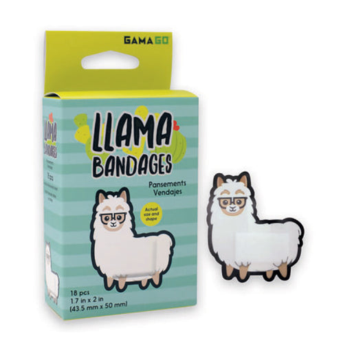 GAMAGO - Llama Bandages | Cookie Jar - Home of the Coolest Gifts, Toys & Collectables