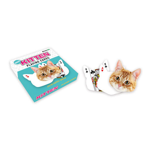 GAMAGO - Kitten Playing Cards | Cookie Jar - Home of the Coolest Gifts, Toys & Collectables