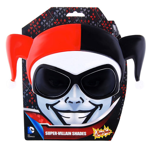 The Queen of Arkham: Harley Quinn Sun-Staches Novelty Sunglasses