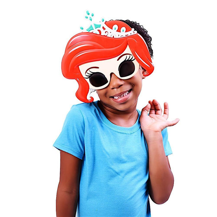 Princess Ariel Sun-Staches Novelty Sunglasses | Cookie Jar - Home of the Coolest Gifts, Toys & Collectables