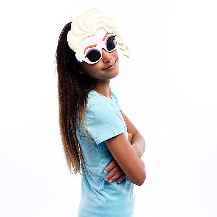 Frozen Elsa the Snow Queen Sun-Staches Novelty Sunglasses