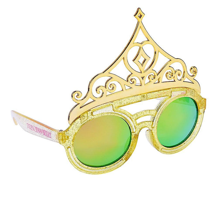 Princess Belle Tiara Sun-Staches Novelty Sunglasses
