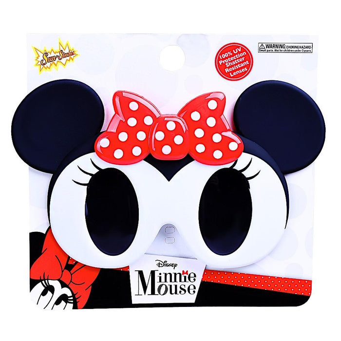 Minnie Mouse Lil Character Sun-Staches Novelty Sunglasses | Cookie Jar - Home of the Coolest Gifts, Toys & Collectables