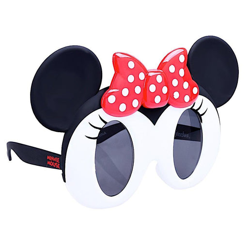 Minnie Mouse Lil Character Sun-Staches Novelty Sunglasses