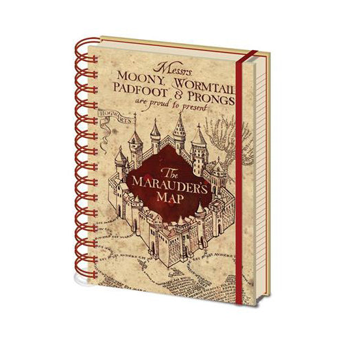 Harry Potter - Marauders Map A5 Notebook | Cookie Jar - Home of the Coolest Gifts, Toys & Collectables