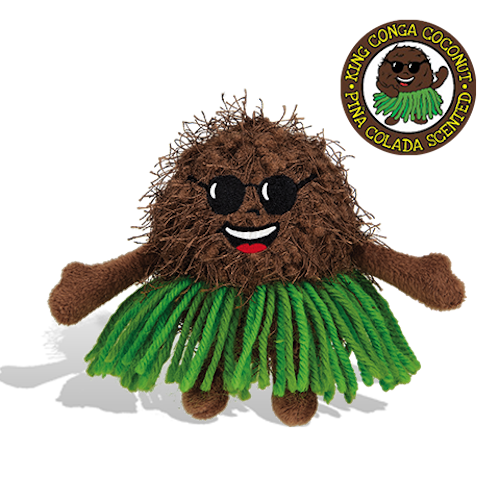 Whiffer Sniffers - King Conga Coconut Super Sniffer | Cookie Jar - Home of the Coolest Gifts, Toys & Collectables