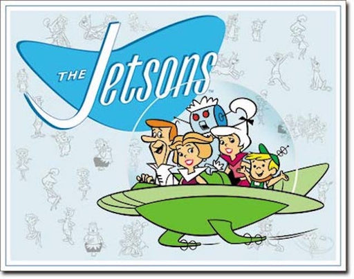 The Jetsons Retro Tin Sign