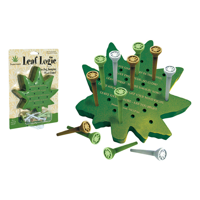 Stonerware - Leaf Logic | Cookie Jar - Home of the Coolest Gifts, Toys & Collectables