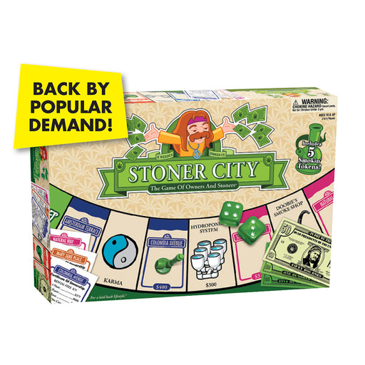 Stonerware - Stoner City Boardgame | Cookie Jar - Home of the Coolest Gifts, Toys & Collectables