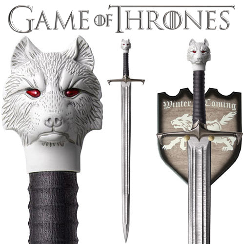 Game Of Thrones - Sword Of Jon Snow Replica | Cookie Jar - Home of the Coolest Gifts, Toys & Collectables