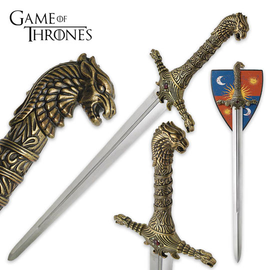 Game Of Thrones - Oathkeeper Sword Replica | Cookie Jar - Home of the Coolest Gifts, Toys & Collectables