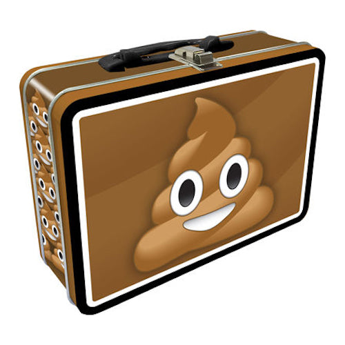 Poop Emoji Tin Carry All Fun Box | Cookie Jar - Home of the Coolest Gifts, Toys & Collectables
