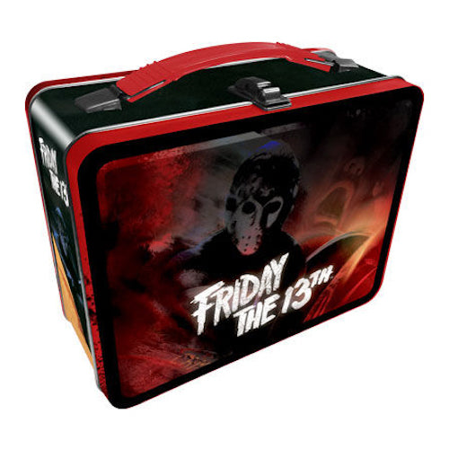 Friday The 13th Tin Carry All Fun Box | Cookie Jar - Home of the Coolest Gifts, Toys & Collectables
